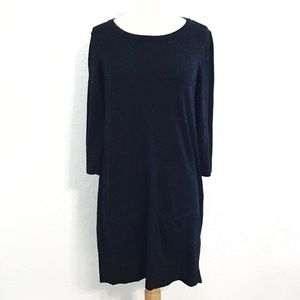 Rag & Bone KNIT black speckled sweater dress sz m